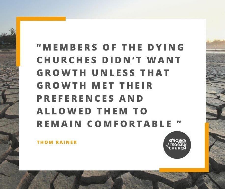 Church growth quote