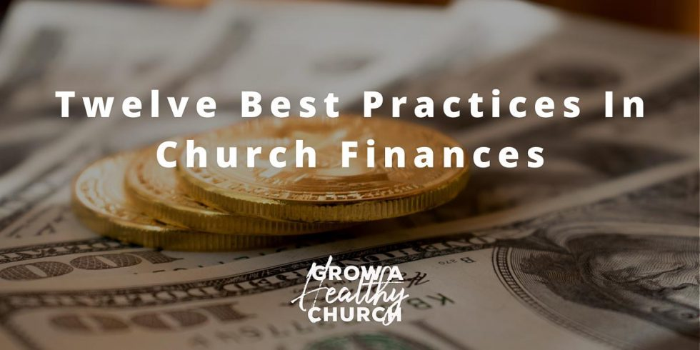 best practices in church finances
