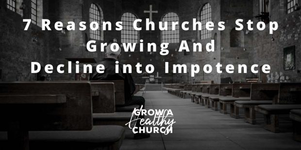 CHURCHES STOP GROWING