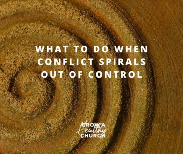 What To Do When Conflict Spirals Out Of Control