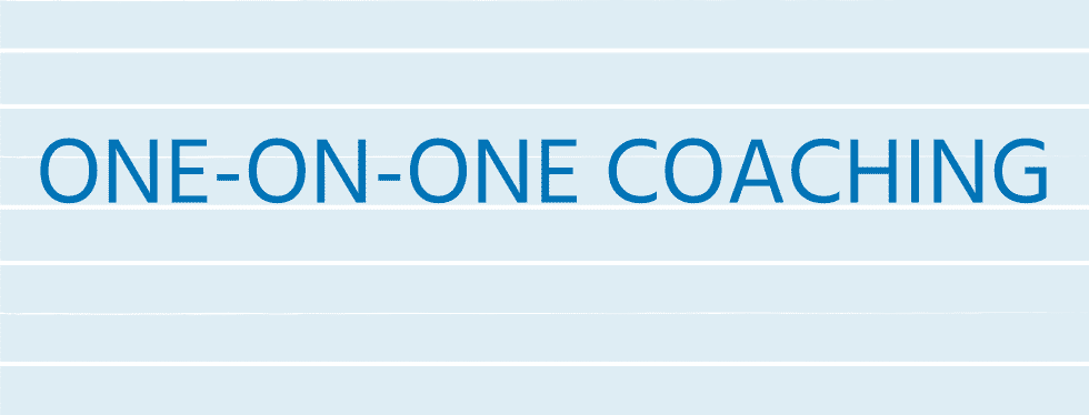 4. One-on-One Coaching