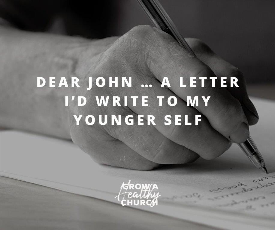 Dear John Letter to my Younger Self